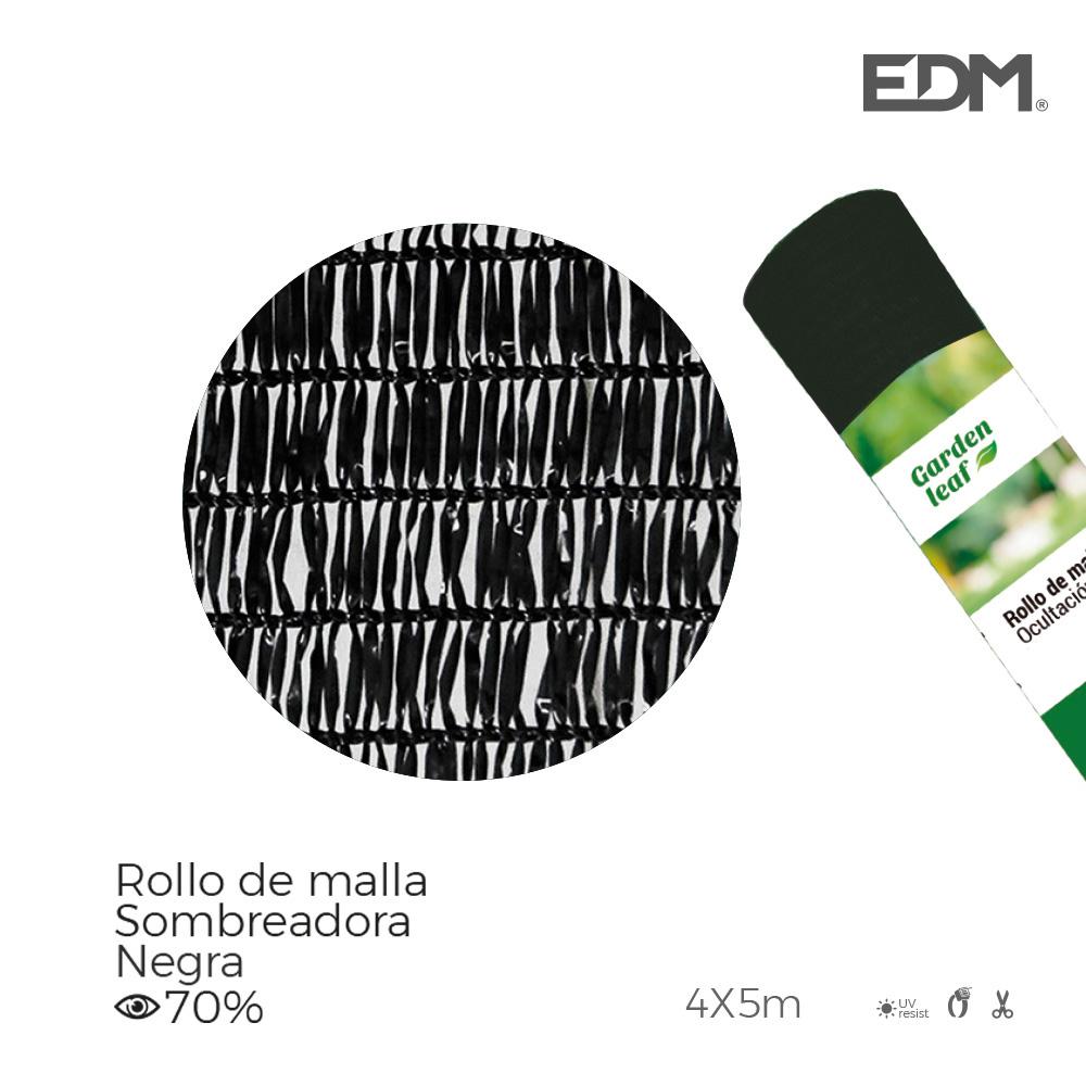 Malla Plegable Verde 70% 4X5M