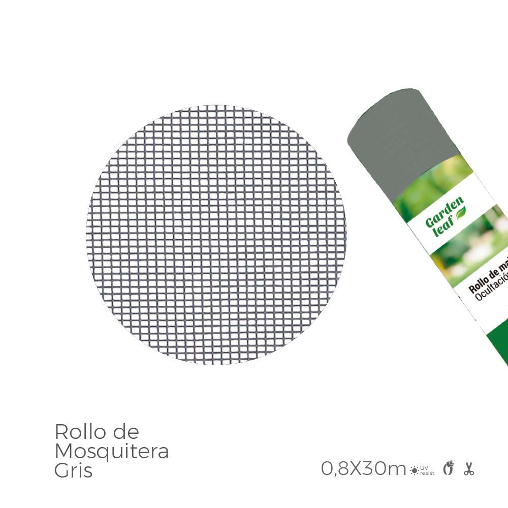 Rollo Mosquitera  Gris 0,80X30Mts