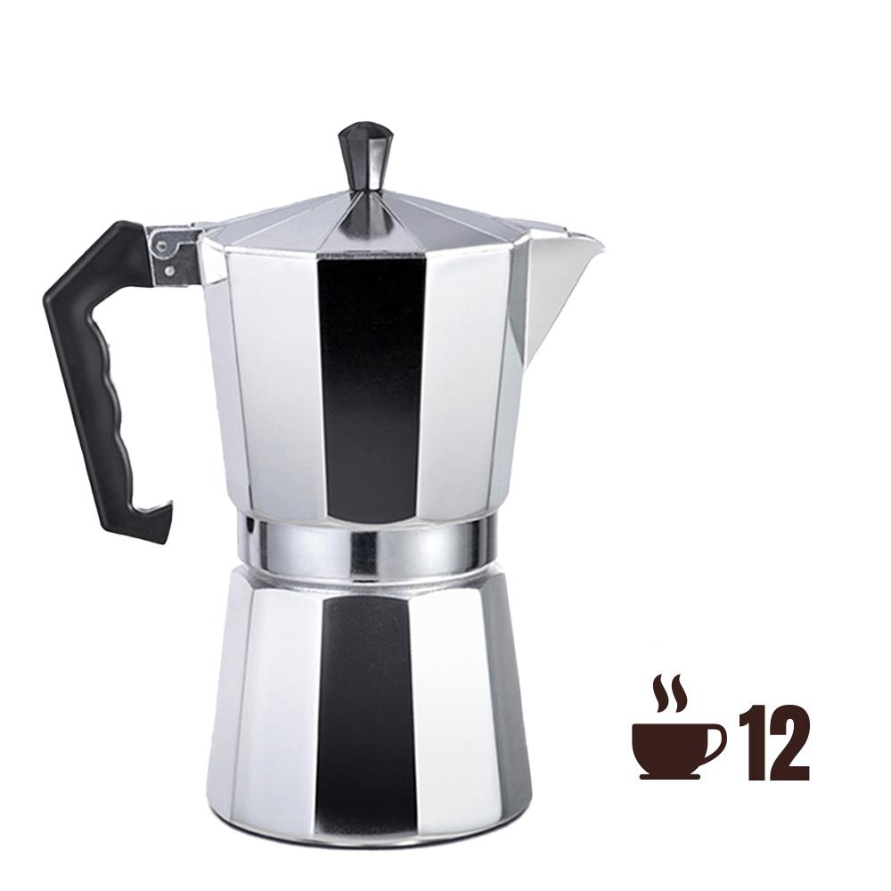 Cafetera De Aluminio - 12 Tazas - Edm