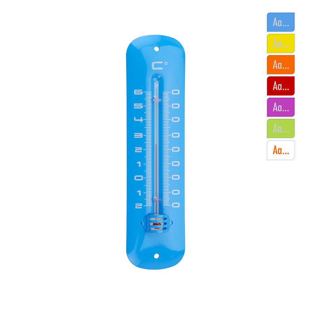 Termometro Metalico 190X48Mm