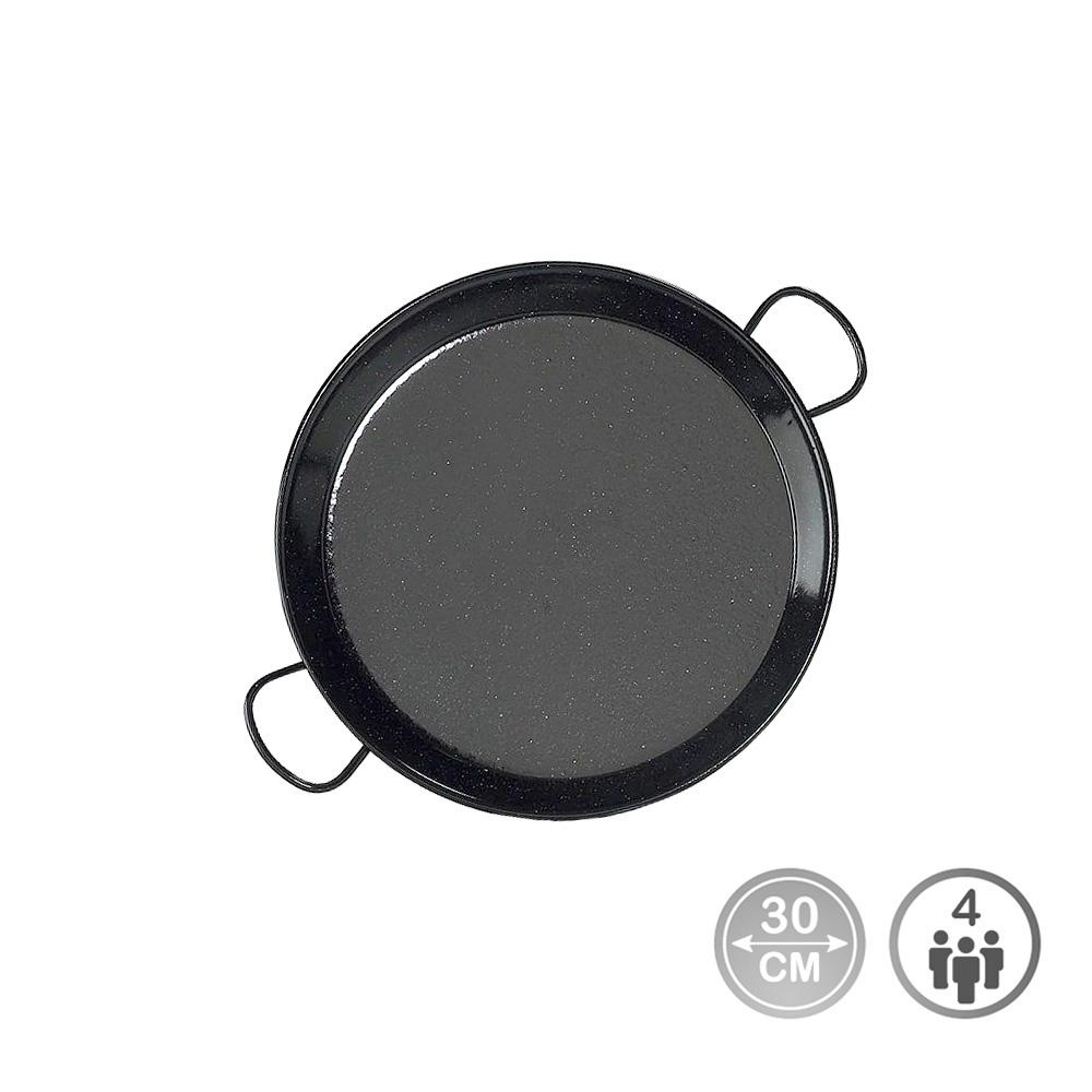 Paella tradicional - acero esmaltado ø30cm  (4 personas) - edm