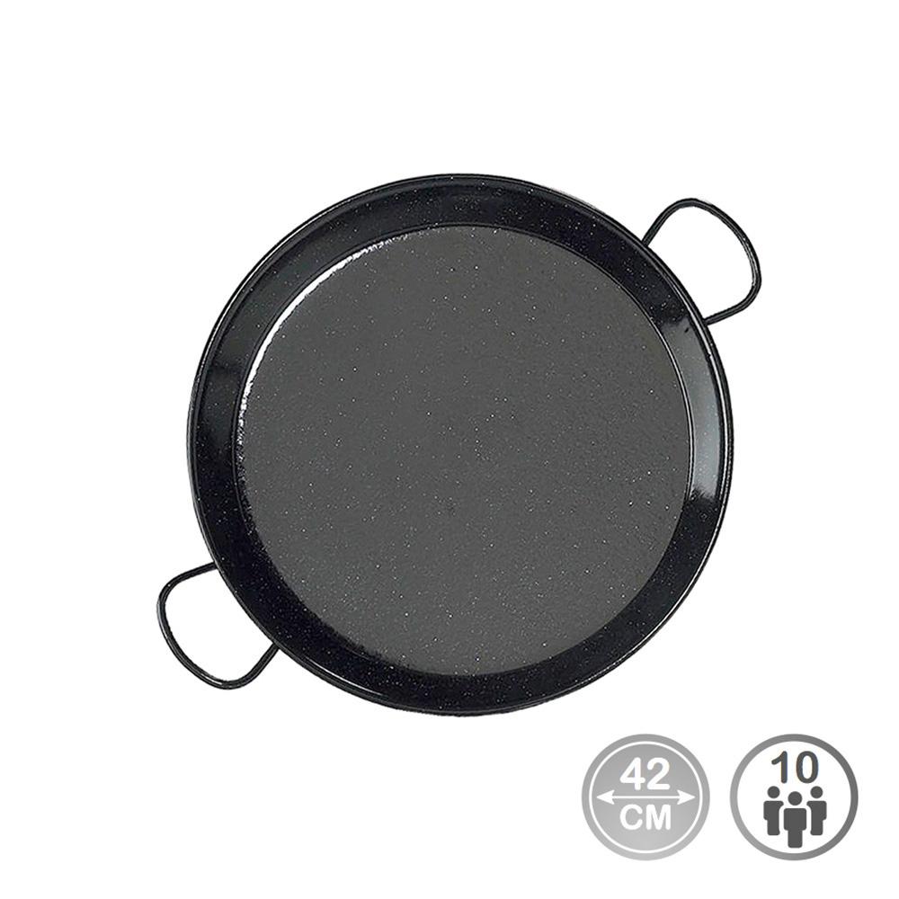 Paella tradicional - acero esmaltado ø42cm  (10 personas) - edm