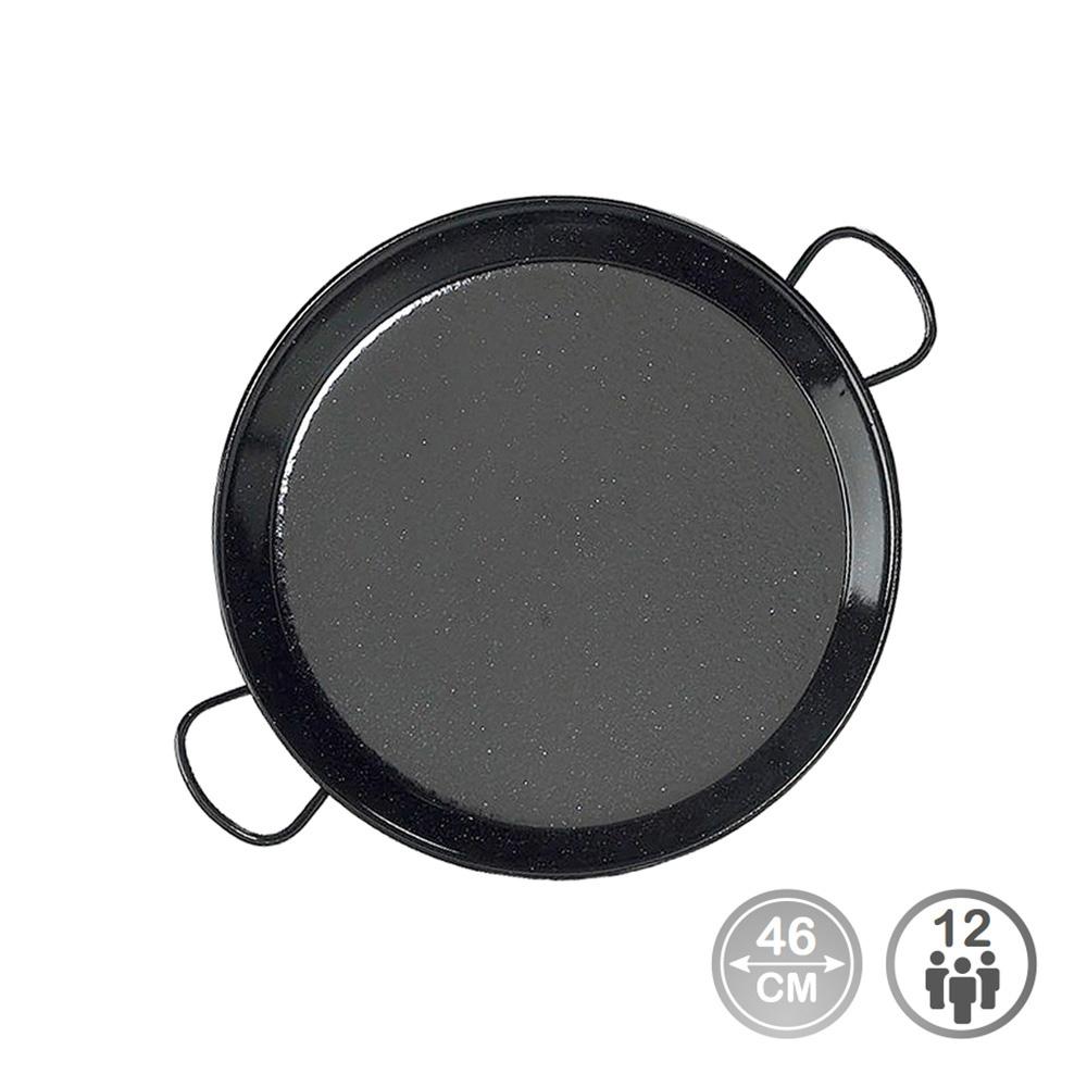 Paella tradicional - acero esmaltado ø46cm  (12 personas) - edm