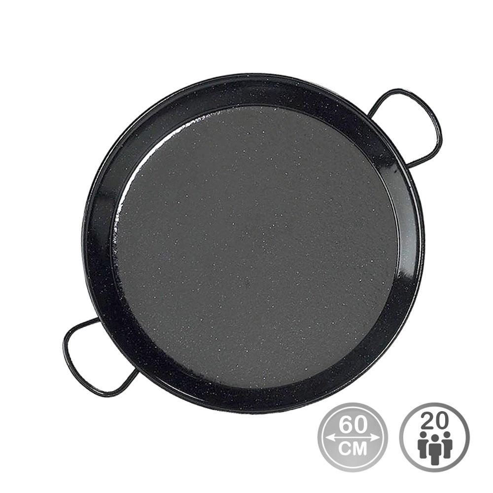 Paella tradicional - acero esmaltado ø65cm  (22 personas) - edm