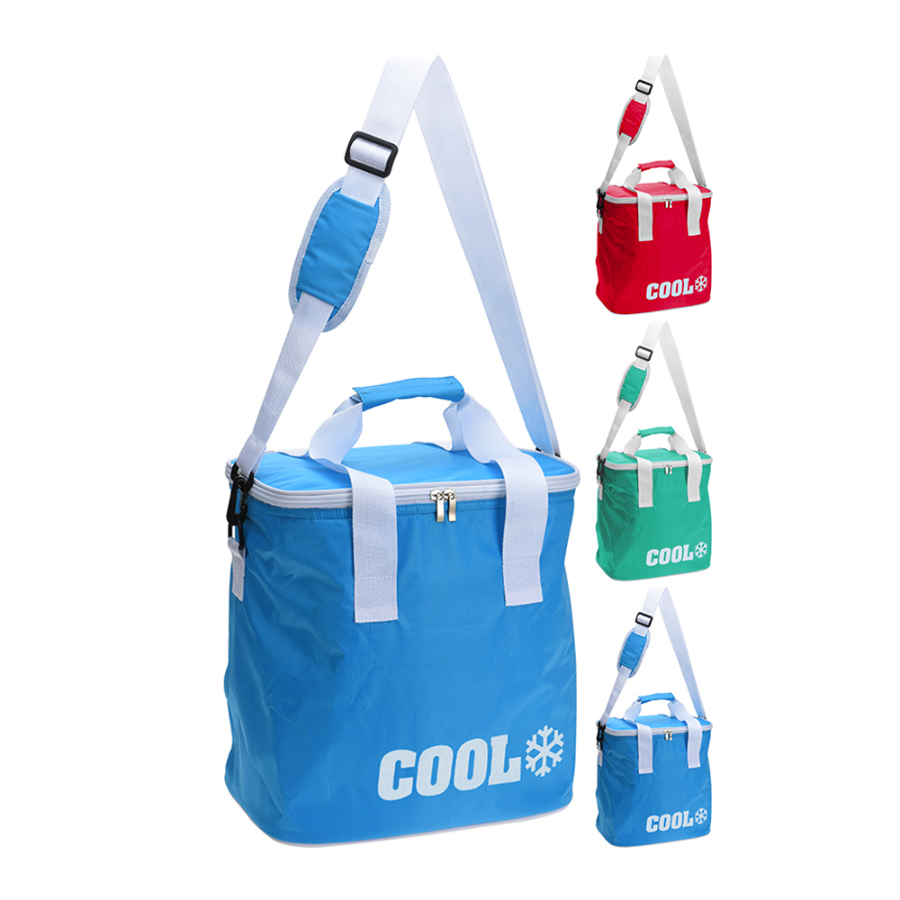 Bolsa Tipo Nevera 24L Con Bandolera Ajustable 380X210X370Mm Colores Surtidos