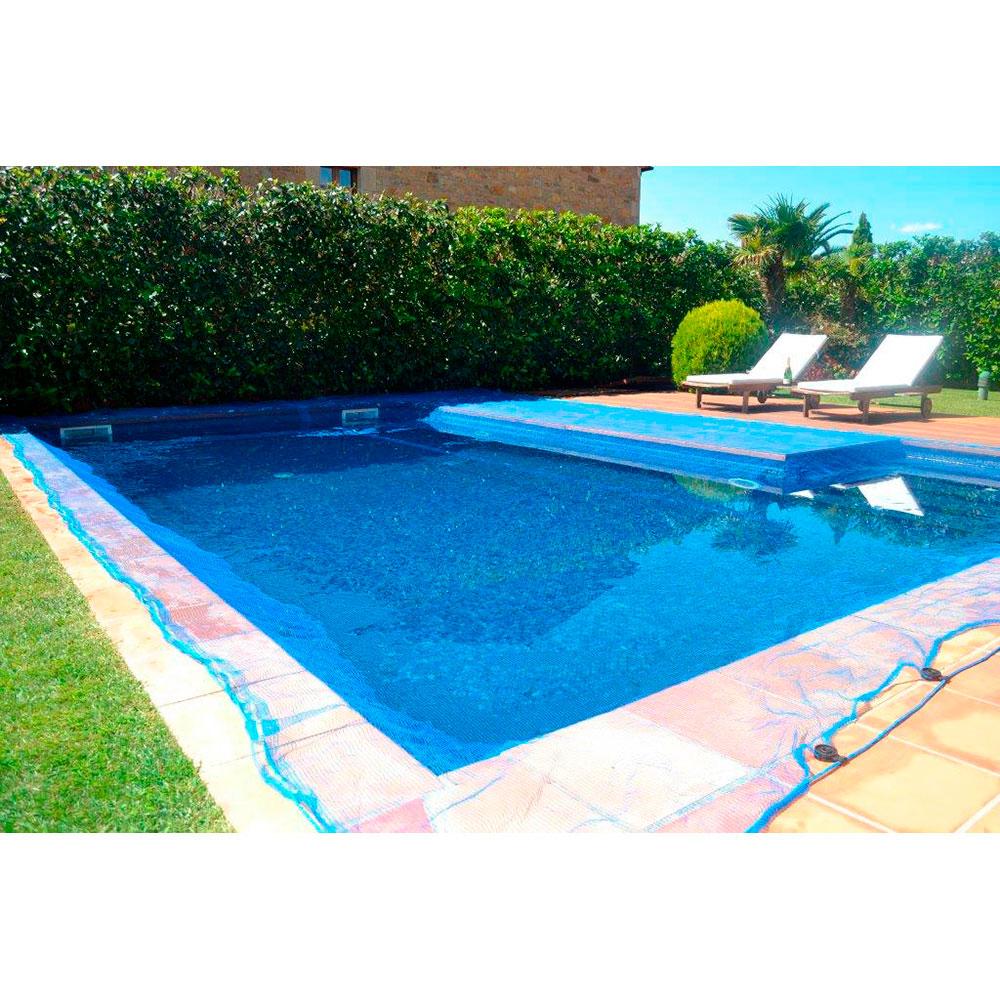 Malla para piscina 6x6m leaf pool cover