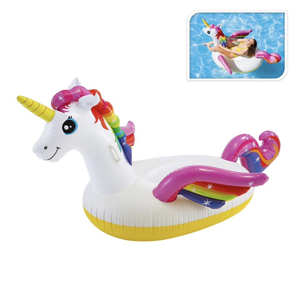 Flotador Diseño Unicornio 101X140X97Cm
