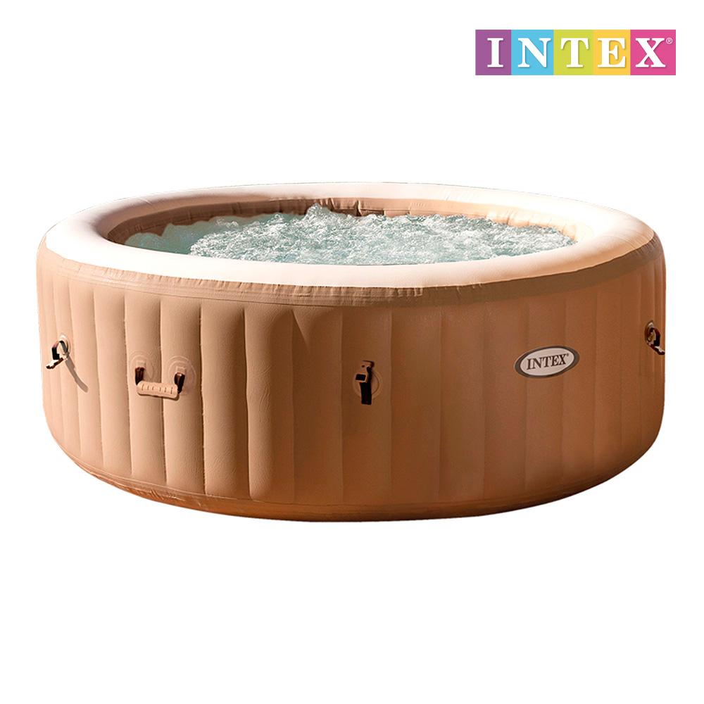 Purespa masaje burbujas 795 l beig d196x71cm - 4 personas  intex 28426ex