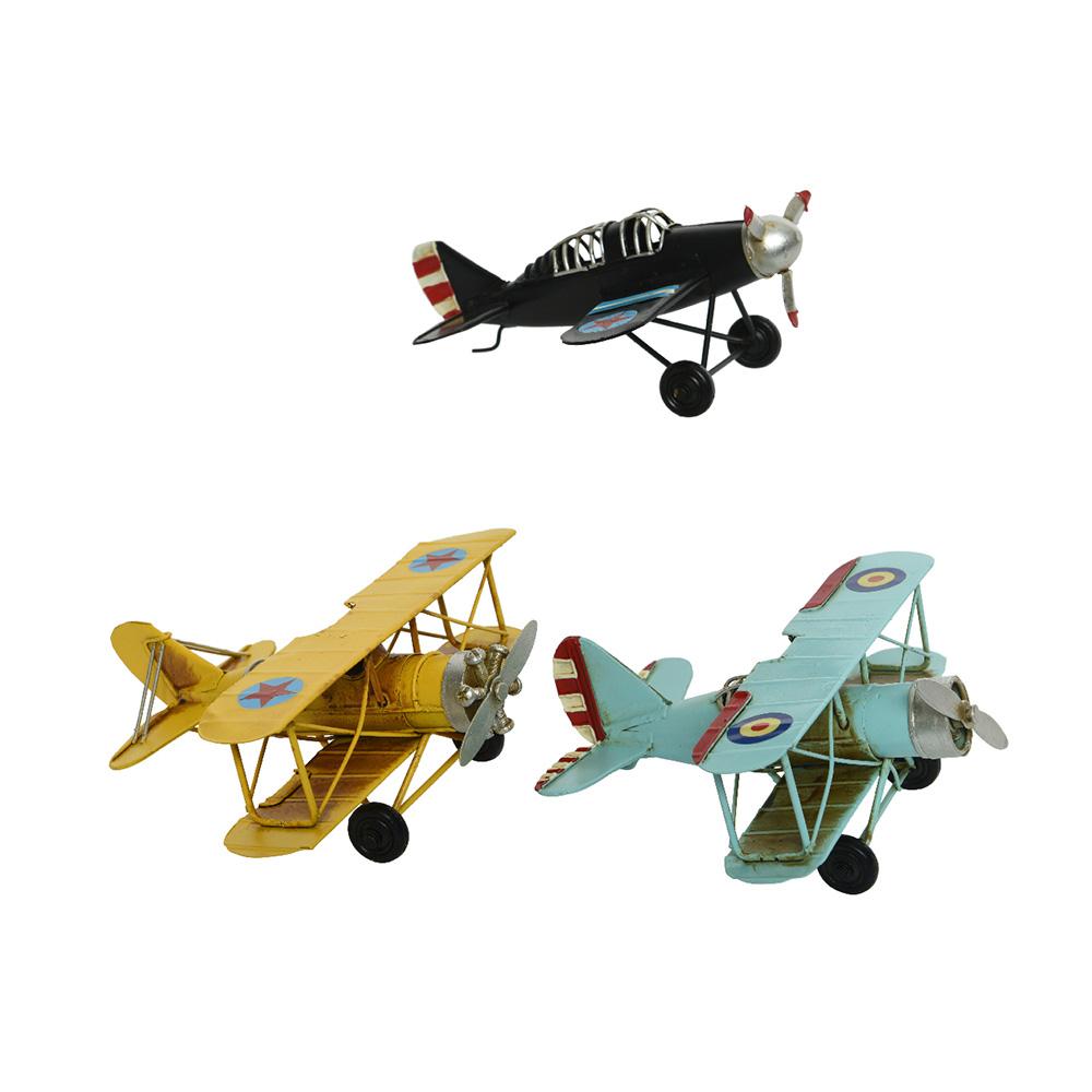 Aviones De Hierro Estilo Vintage