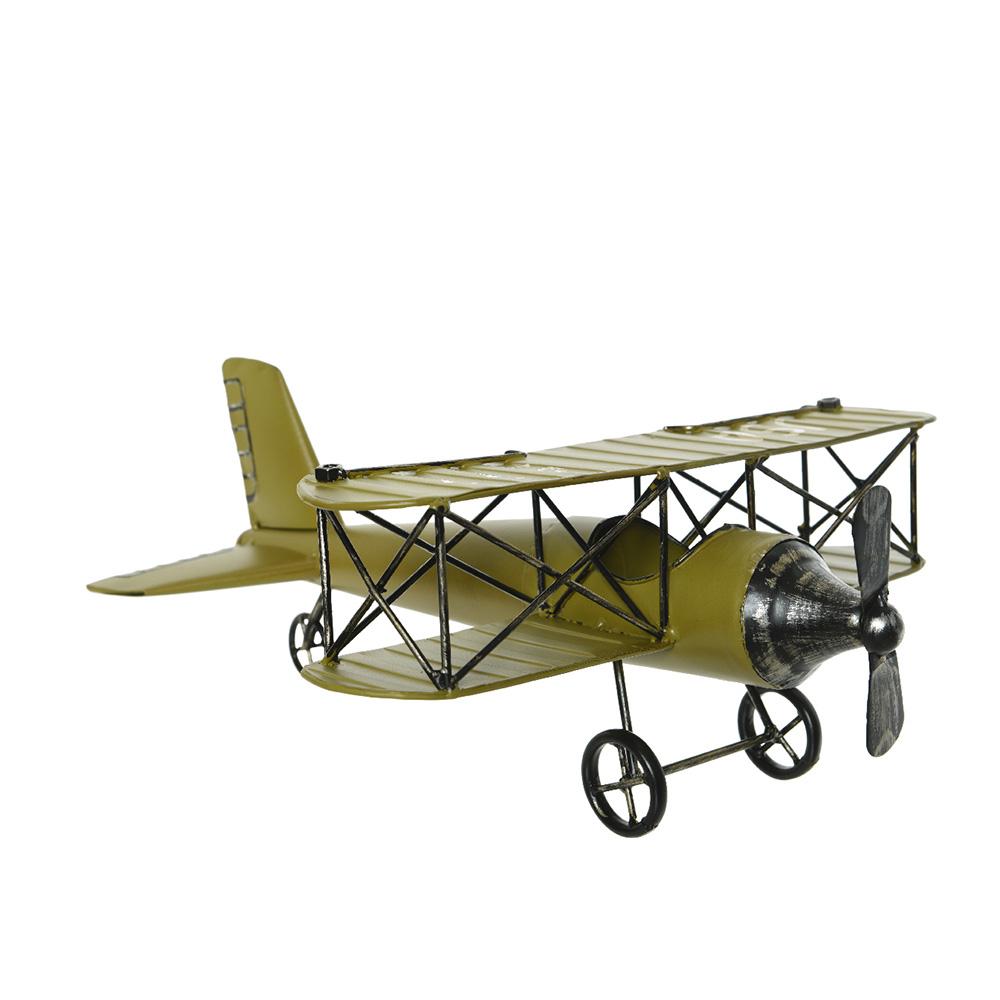 Avion De Hierro Estilo Vintage