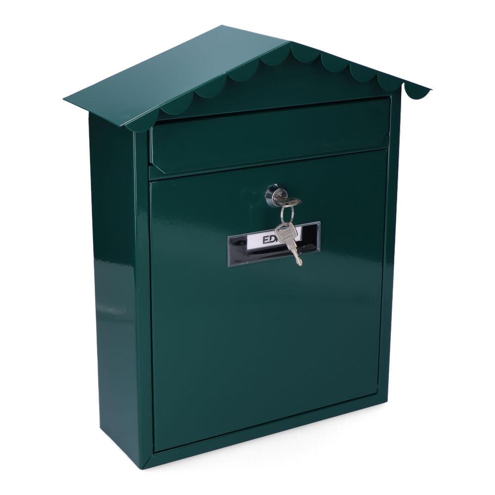 Buzon En Acero Modelo Tradition Verde