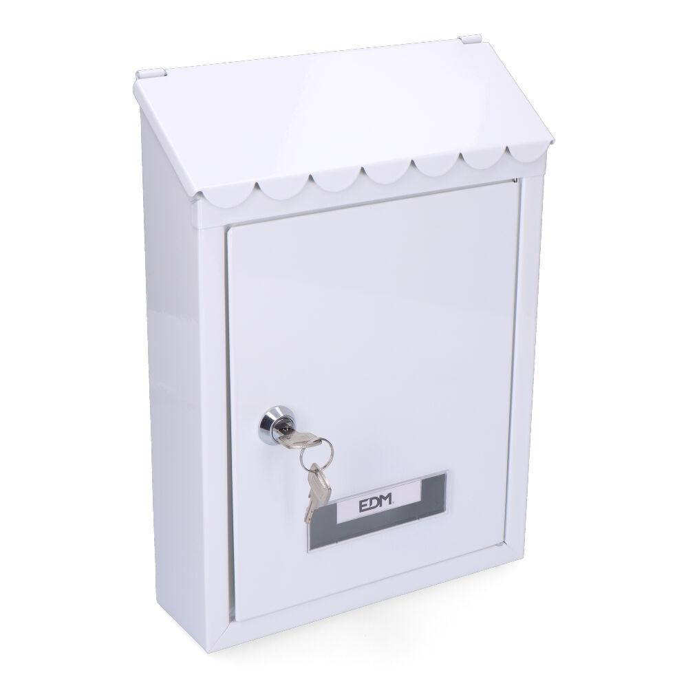 Buzon En Acero Modelo Standard Blanca
