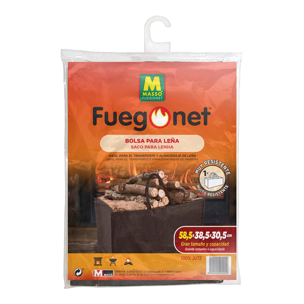 Bolsa Para Leña - 56X32Cm - Fuegonet