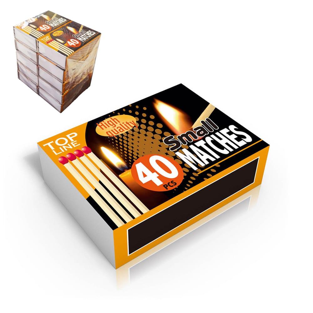 Pack De 10 Cajas De Cerillas (Caja De 4O Unid.)