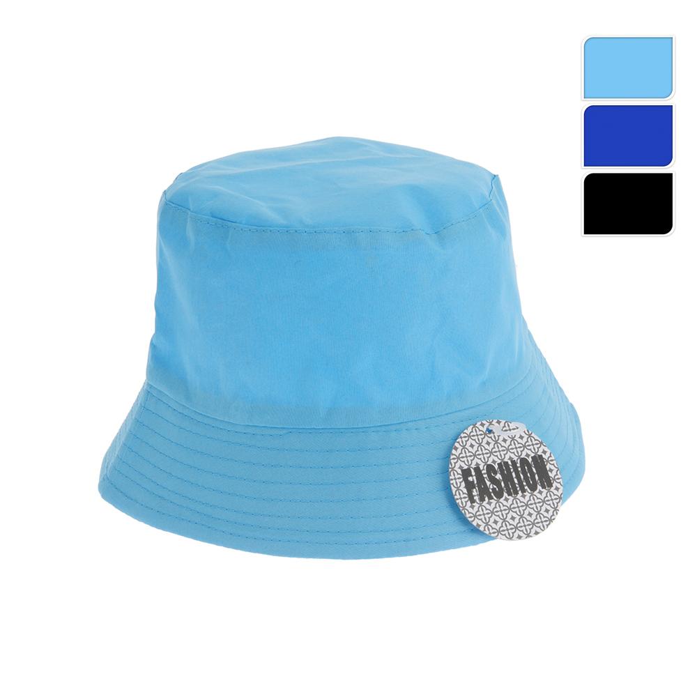Gorro Estilo Pescador Colores Surtidos (Azul Marino, Azul Y Negro)