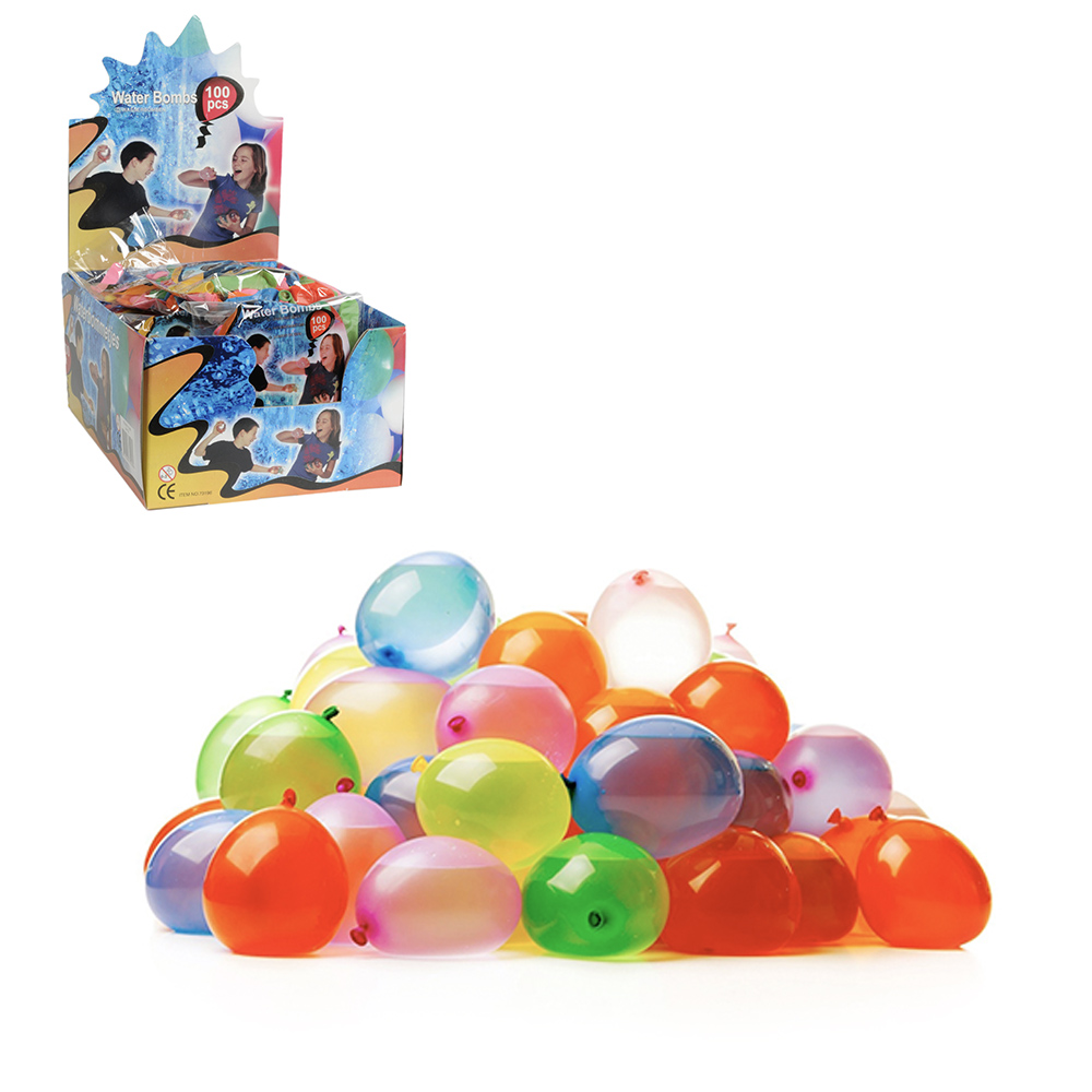 Globos De Agua 100 Pcs Diseño Eddy Toys