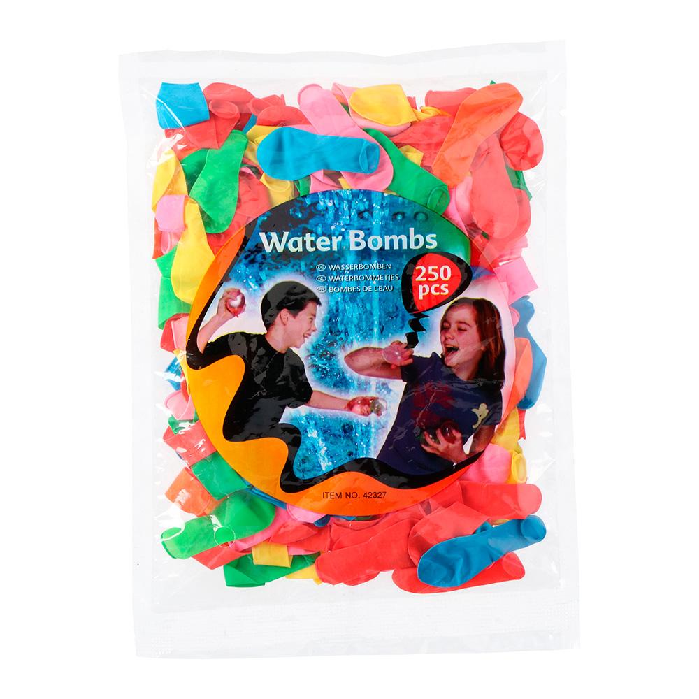 *ult.unidades* globos de agua 250 piezas