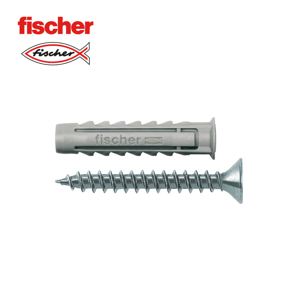 Blister Taco+Tornillo Fischer Sx 8X40 Sk Nv 10Uds
