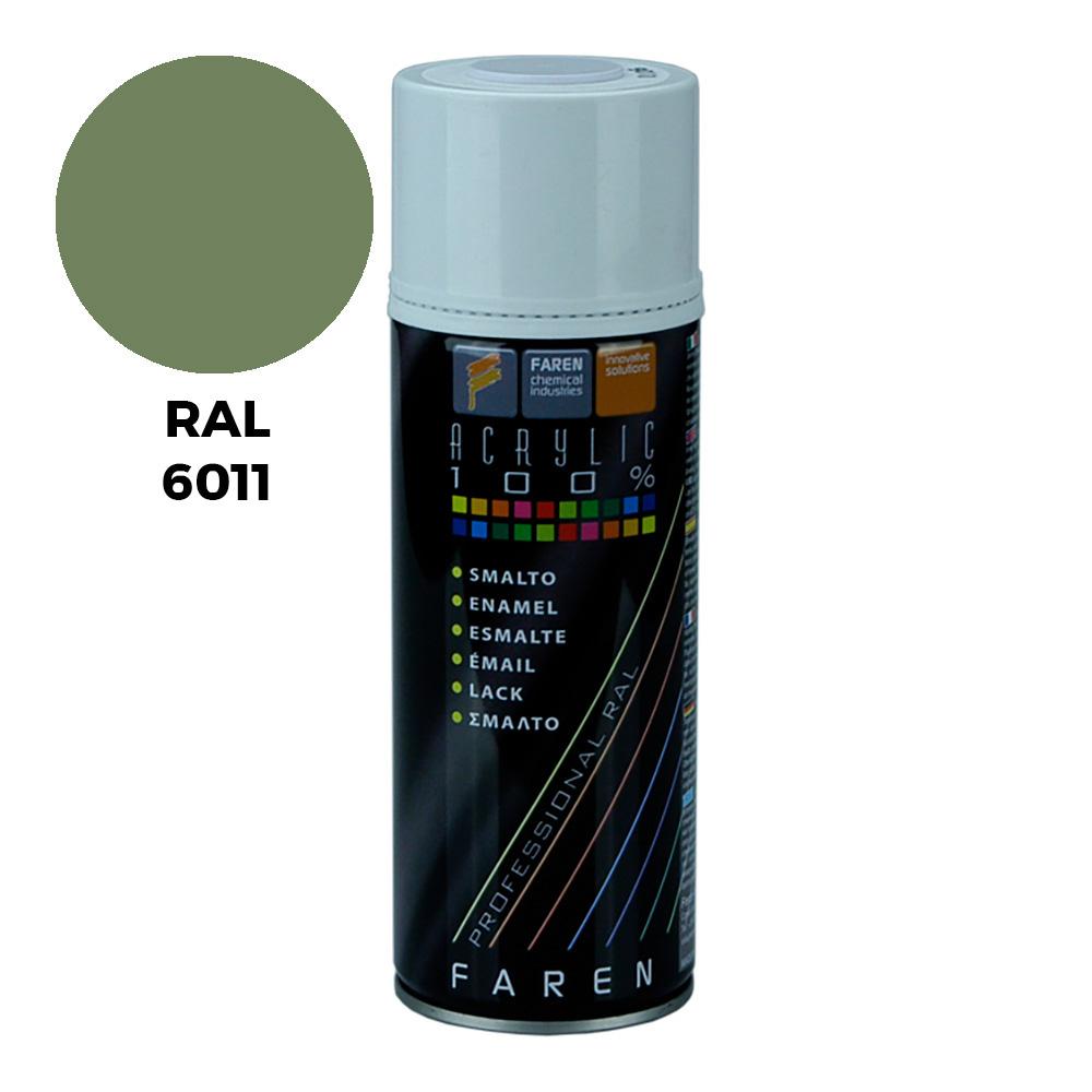 Spray Ral 6011 Verde Reseda 400Ml