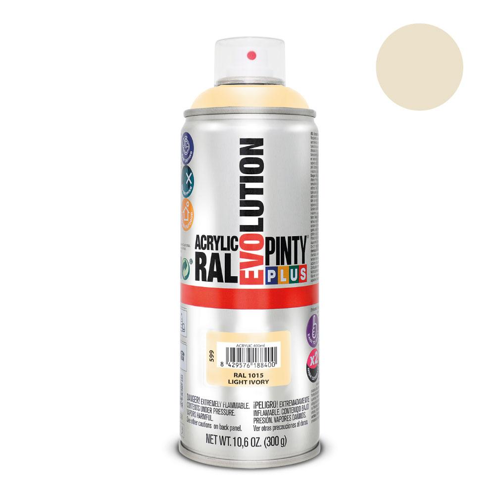 Acrylicolor-Marfil Claro 400Ml