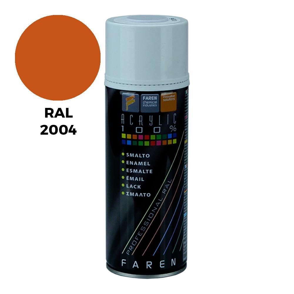 Acrylicolor-Naranja Puro 400Ml