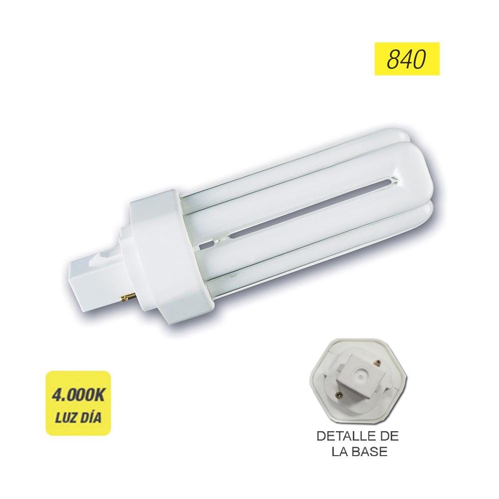"Bombilla Lynx-T G24-D2 18W 840K 2 Pin ""Sylvania""  (Equivalencia Philips: Pl-T 2P)"