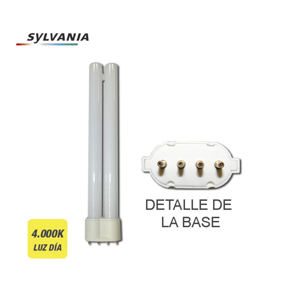 """Bombilla Bajo Consumo Lynx-Se 11W 840K Luz Dia Casquillo 2G7 4 Pin """"Sylvania"""""""