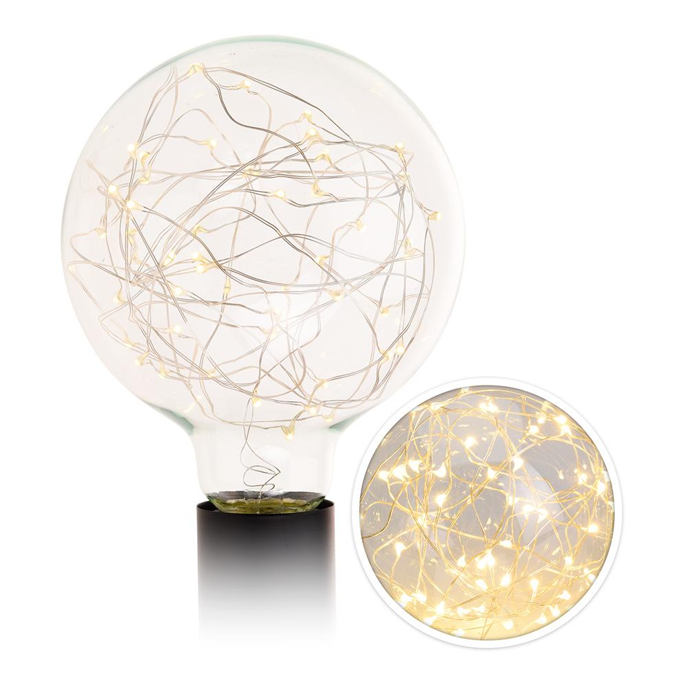 Bombilla Decorativa Led G125 50Led Lights 60 Lumens
