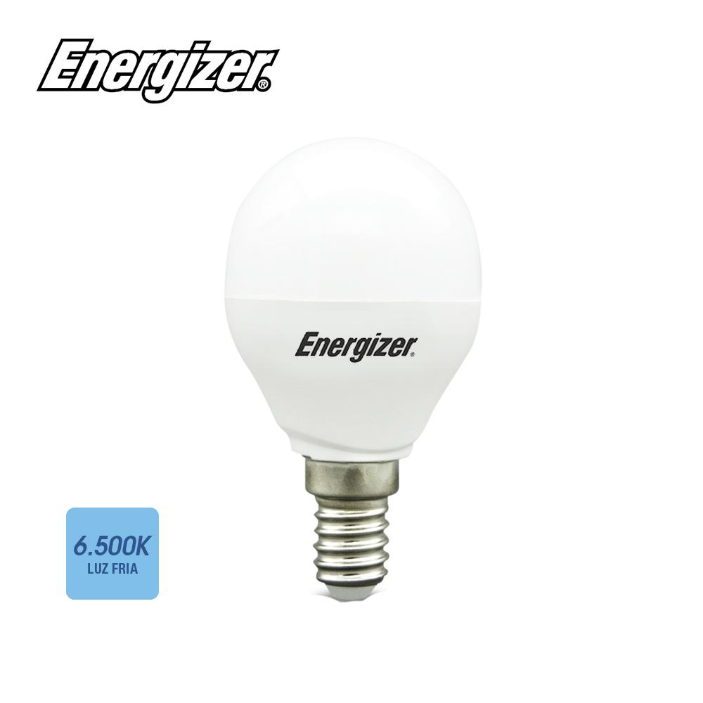 Bombilla Esferica Led E14 5.9W Luz Fria 520 Lumens 6500K