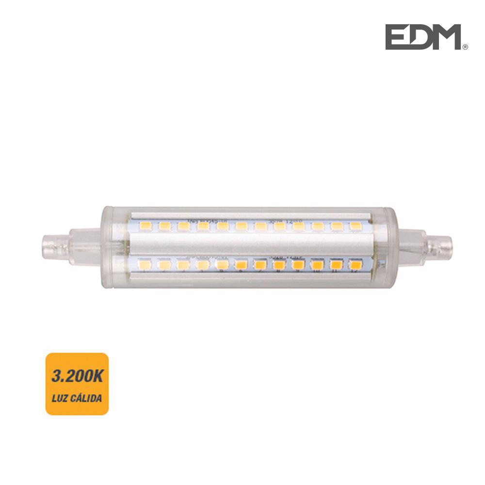 Bombilla Lineal Led 118Mm R7S 8W 810 Lumens 3.200K Luz Calida Edm