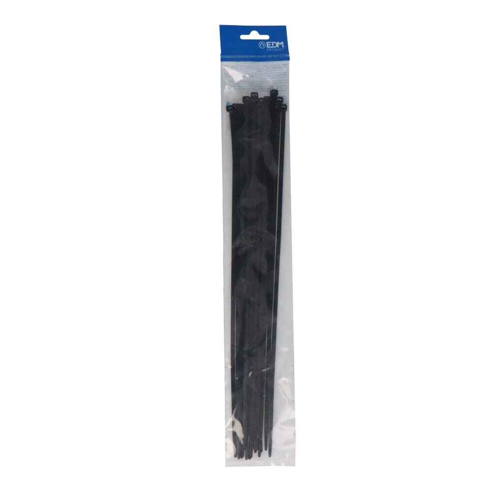 5Bridas Negras 380X4,8 Envasadas (Bolsa 25 Unid.) Edm