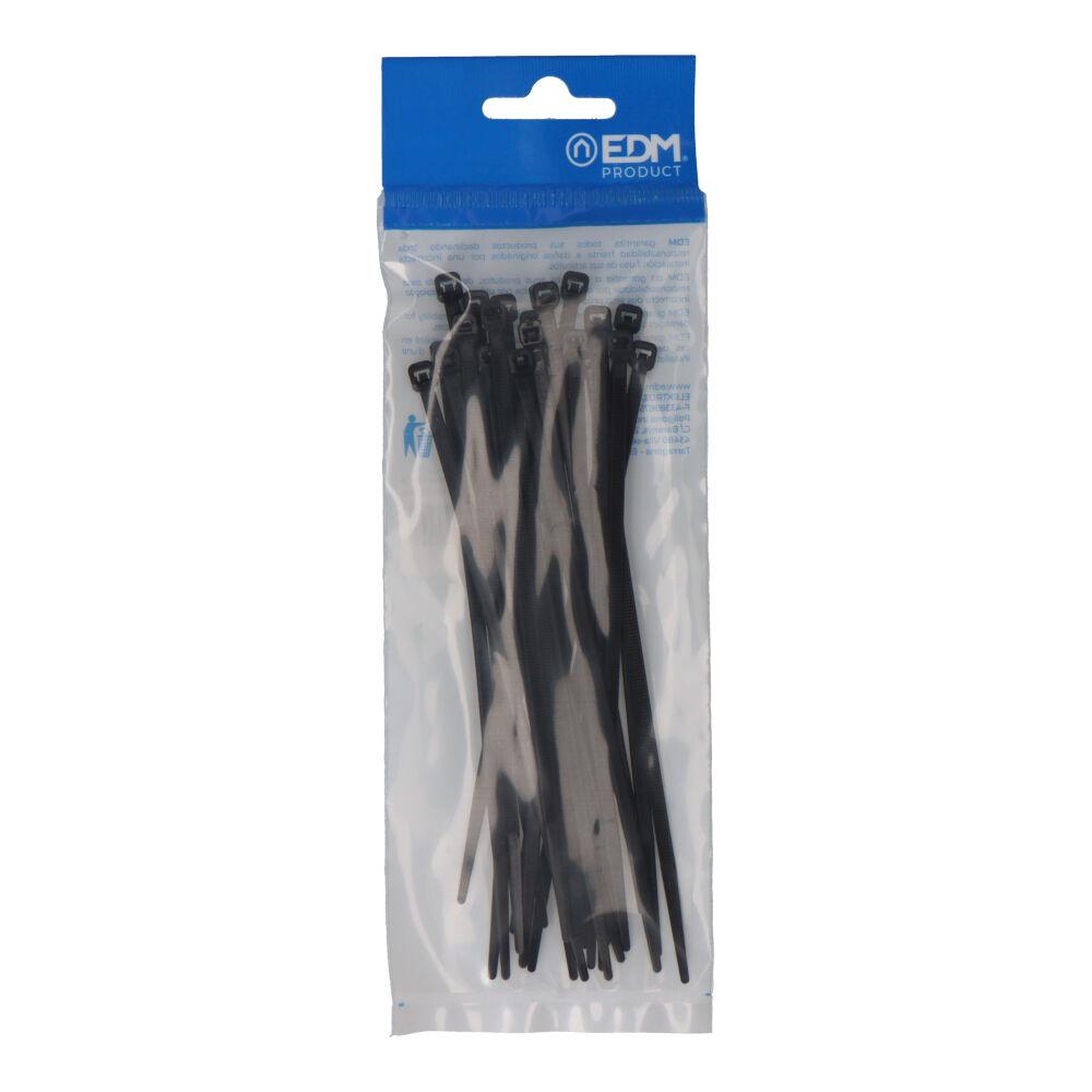 Bridas Negras 150X3,5 Envasadas (Bolsa 25 Unid.) Edm