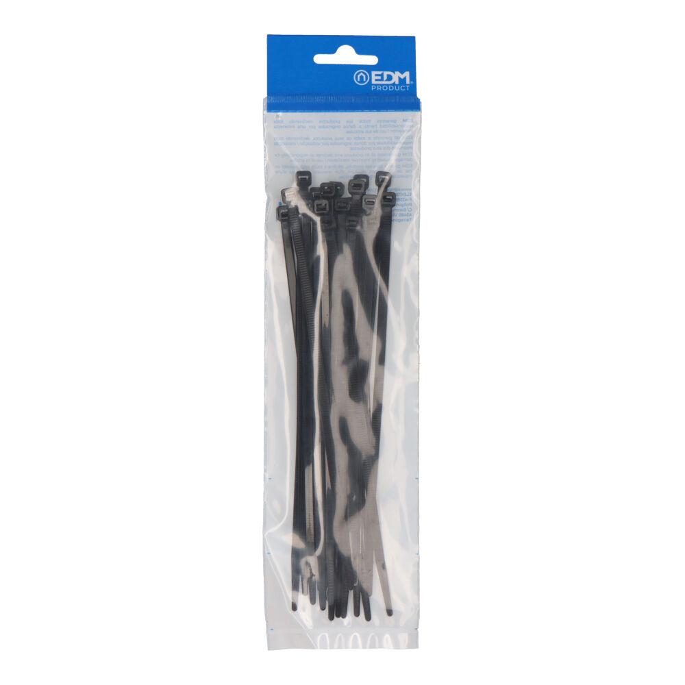 Bridas Negras 200X4,8 Envasadas (Bolsa 25 Unid.) Edm