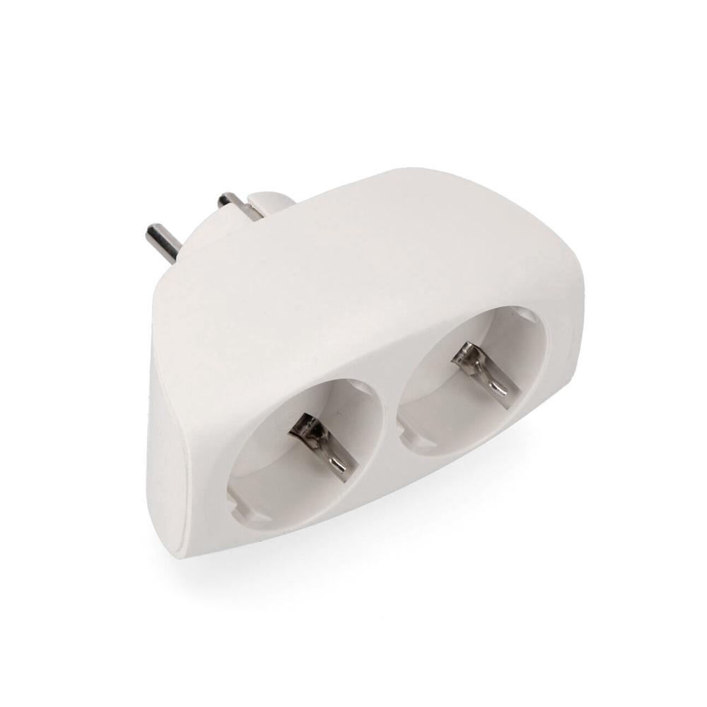 Multiconector Doble Economico Retractilado Edm 2.400W